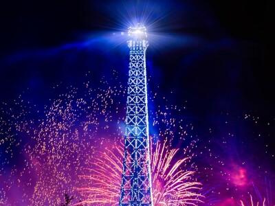 Новый год  по-французски