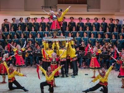 Грандиозные гала-концерты Ансамбля имени А.В.Александрова, посвященные 75-летию Победы
