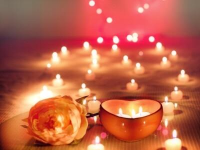Романтический вечер при свечах с арфой, органом и саксофоном. Классика и джаз