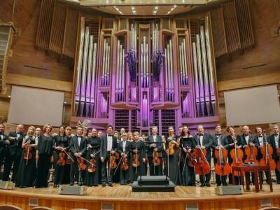 Национальный филармонический оркестр России. Дирижер – Мишель Плассон