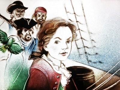 «Остров сокровищ» М. Гульдан и песочная анимация