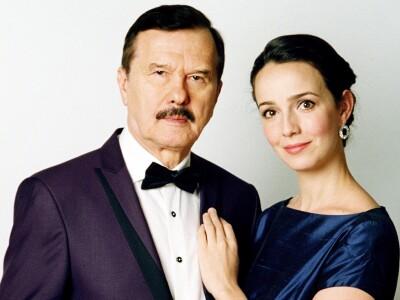Валерия Ланская, Леонид Серебренников