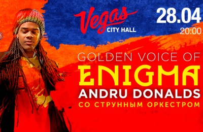 Andru Donalds The Golden Voice Of Enigma