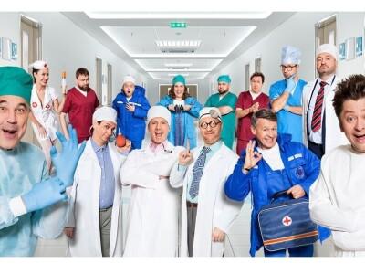 ТВ съемка Шоу Уральские Пельмени «Спорная помощь»