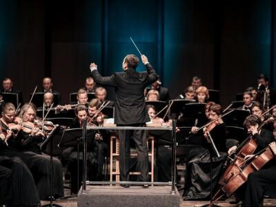 Красноярский академический симфонический оркестр, дирижер В. Ланде. Д. Шостакович