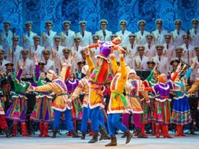 Новогодний концерт Академического ансамбля песни и пляски Российской Армии имени А.В.Александрова