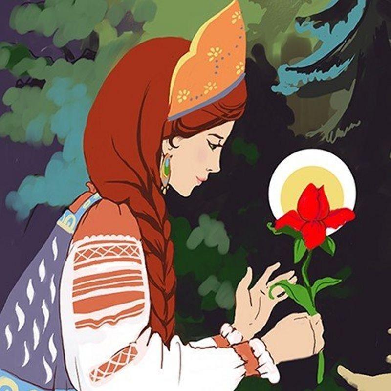 рассказ аленький цветочек картинки изометрическое