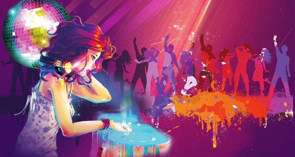 Картинка подростковая дискотека