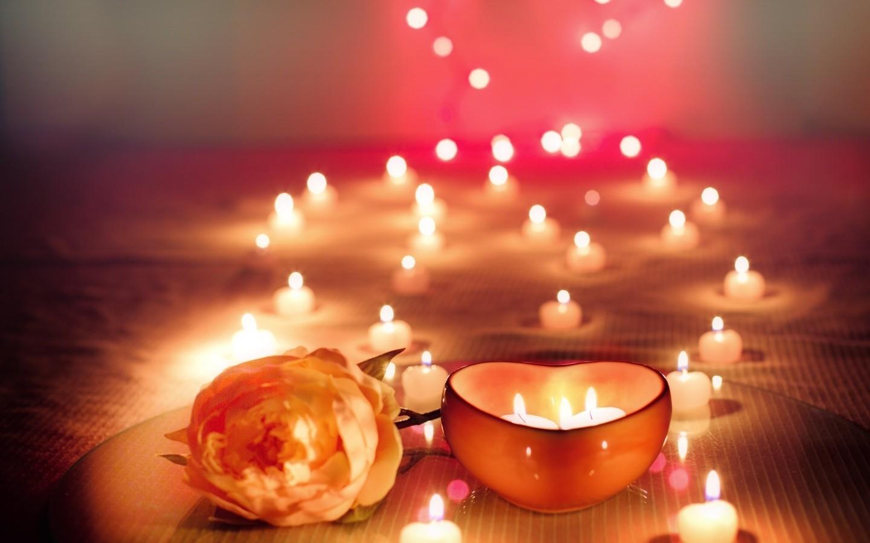 Картинки романтические вечер со свечами